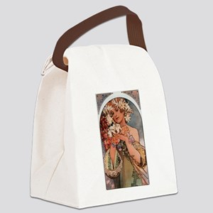 FLOWER_1897 Canvas Lunch Bag